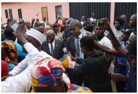 Return home and support me – Akufo-Addo tells Ghanaians abroad