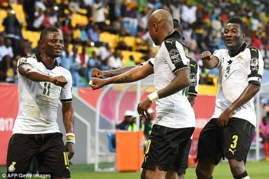 Black Stars all Set to Face the Cameroonian Lions