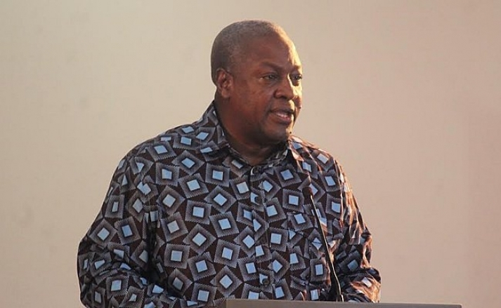 My residence was approved as my retirement package – Mahama