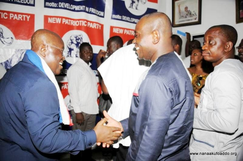 Akufo-Addo to spend two hours at NPP headquarters every Monday