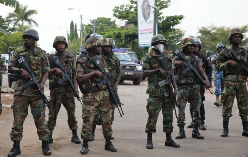 Ghana deploys 205 soldiers for ECOWAS mission in Gambia