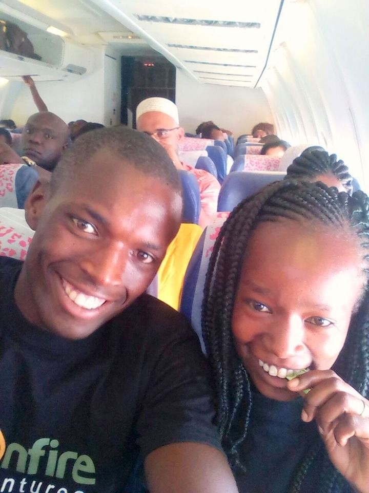 PHOTOS: KENYAN COUPLE WHO WORE JUST T-SHIRTS ON THEIR WEDDING DAY, GET AN ALL EXPENSE PAID HONEYMOON TRIP