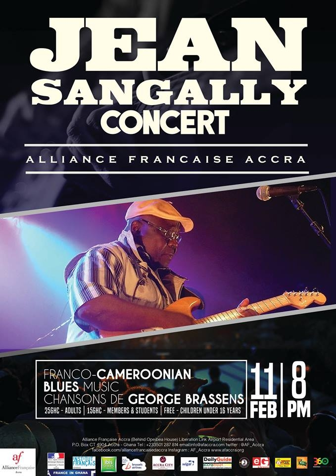 JEAN SANGALLY IN CONCERT