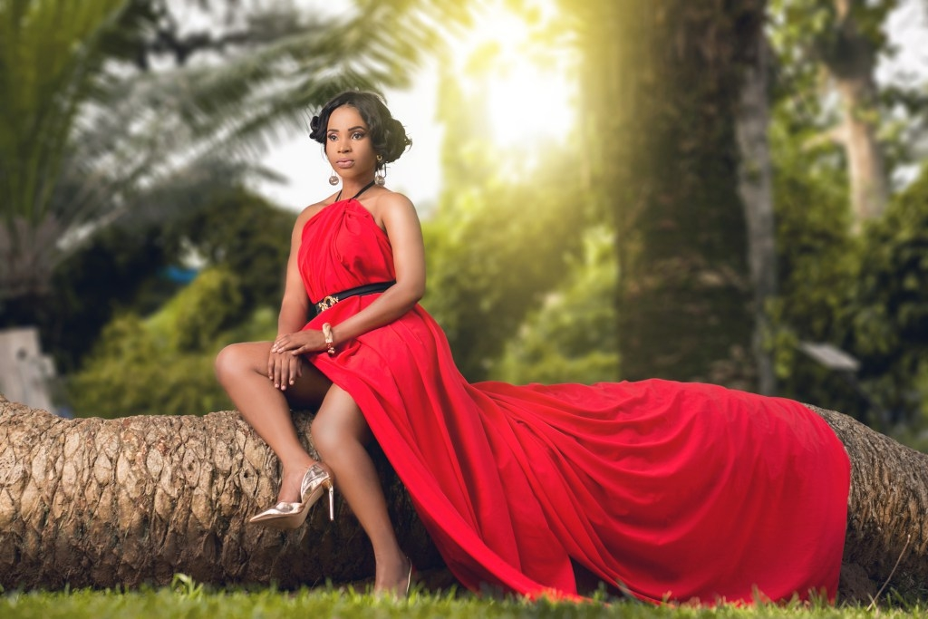 Pin Up Photo: Actress, Benedicta Gafah's Valentine's day Special