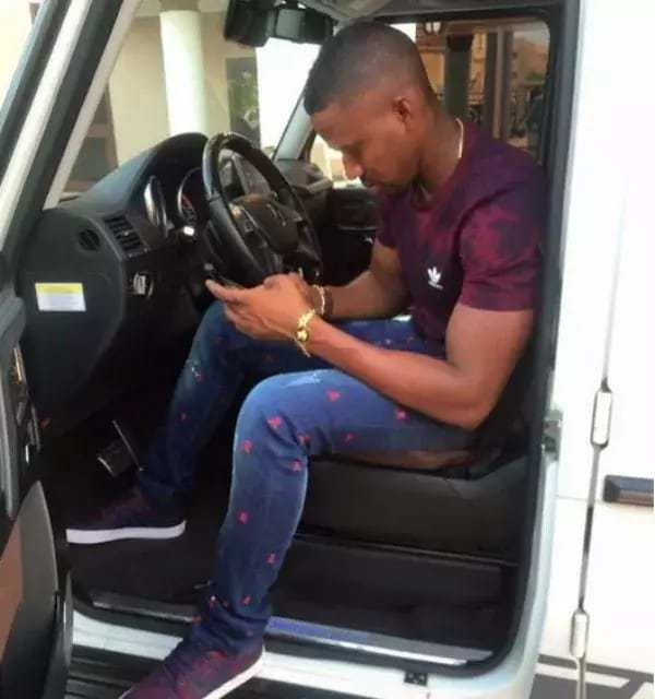 Photos: Check out the guy believed to own the most luxurious cars in Ghana