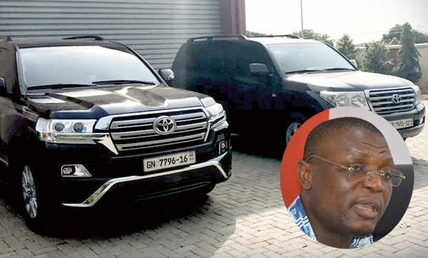 CID grills Kofi Adams over 9 missing cars