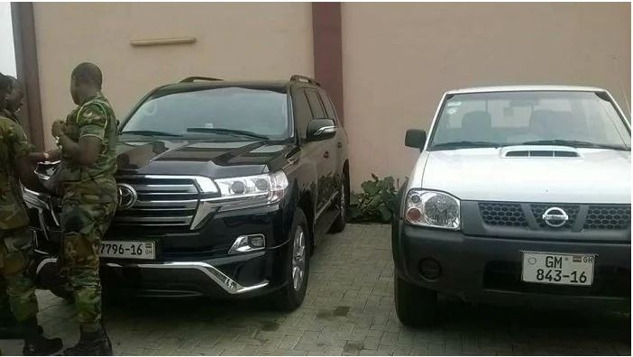 National Security returns Kofi Adams' five cars