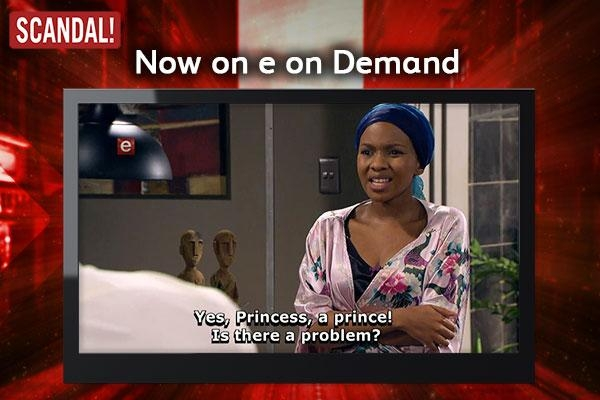 "Scandal: #DintlesBabyDaddy is a ""prince"""