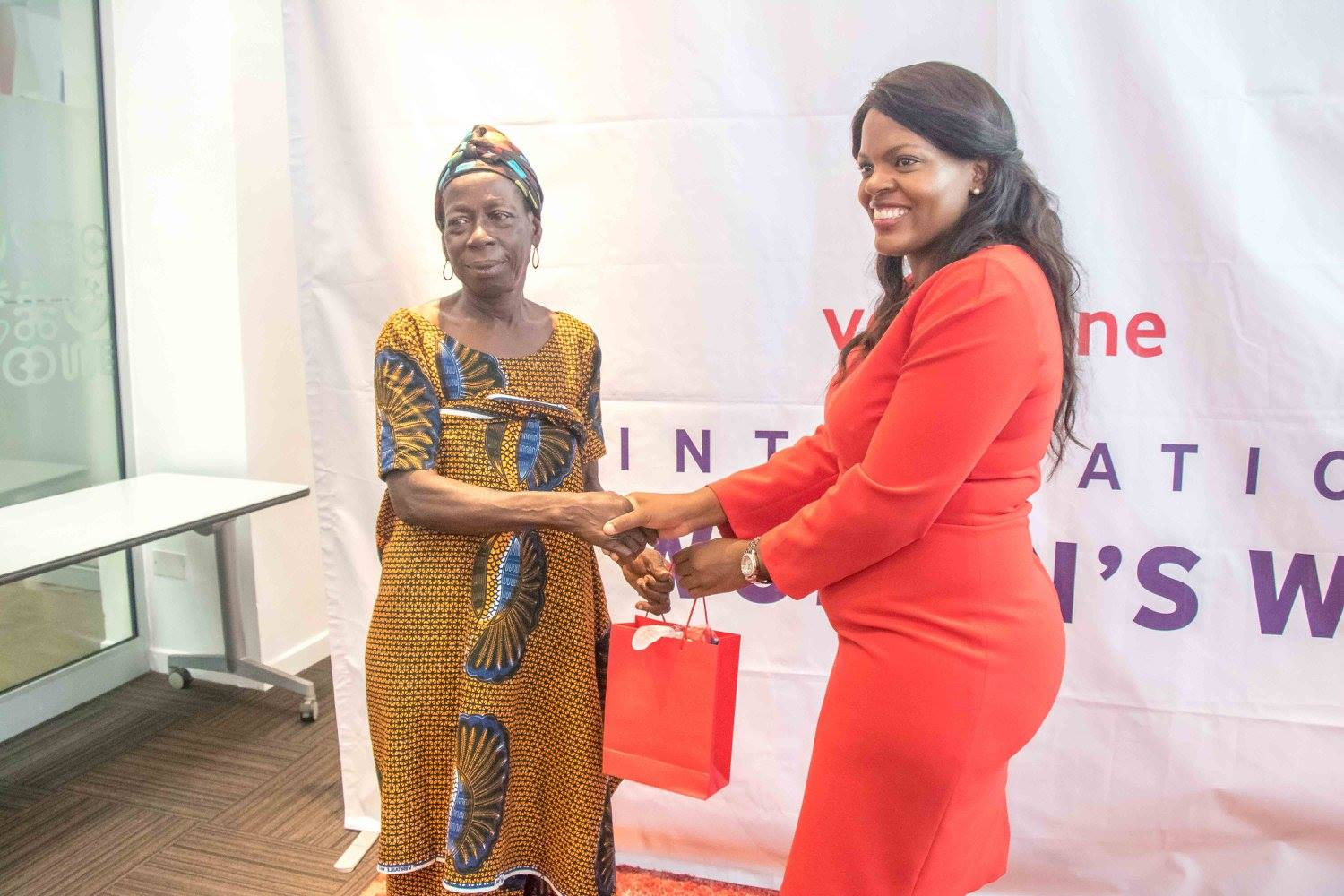 Vodafone empowers 600 farmers on International Women's Day