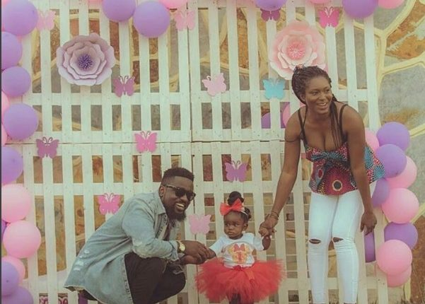 Photos: Sarkodie Baby Girl is a Year old today