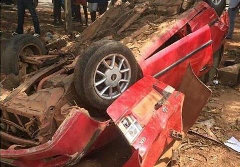 Six die in Assin Juaso road crash