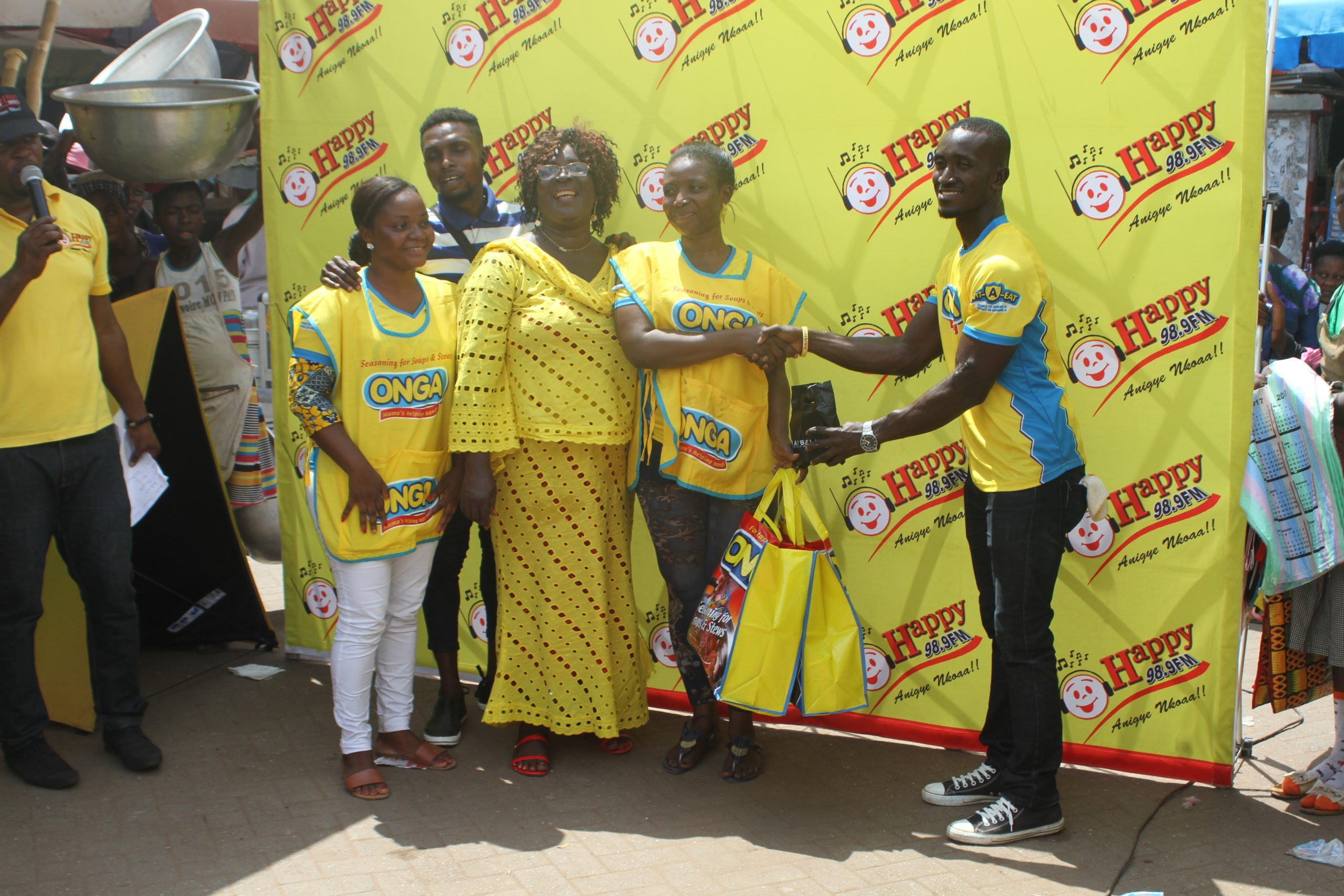 Happy Fm, Onga Holds 'Obaatanpa' Cooking Contest On Mother's Day