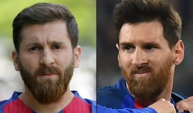 The 'Iranian Messi' - Barcelona star's lookalike taken to police station