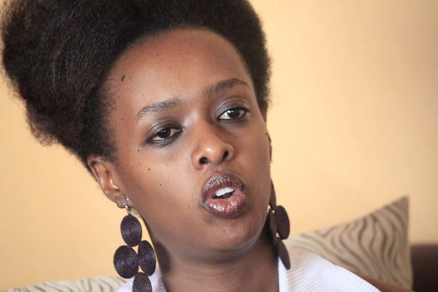 Photos Of Rwanda's Female Presidential Candidate Leaked Online