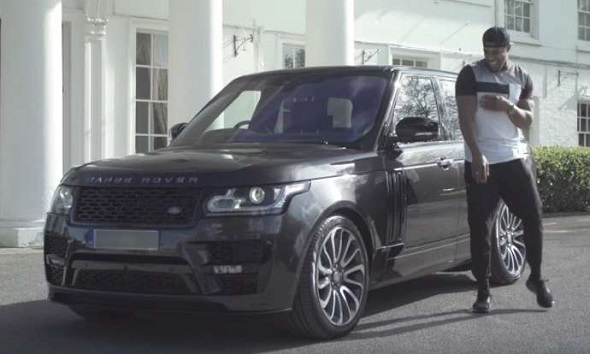 Take a look inside Anthony Joshua's £150,000 Range Rover
