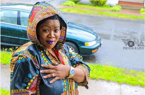 Photos: See Mercy Asiedu Enjoying Life In USA After Wedding