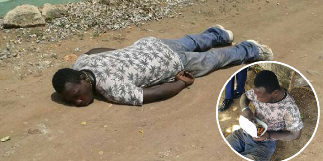 People Said This Man Was Drunk & Mocked Him While Taking Pictures But One Man Helped Him & The Truth Makes Us Sad