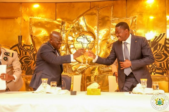 President advocates for 24-hour opening of Ghana-Togo borders