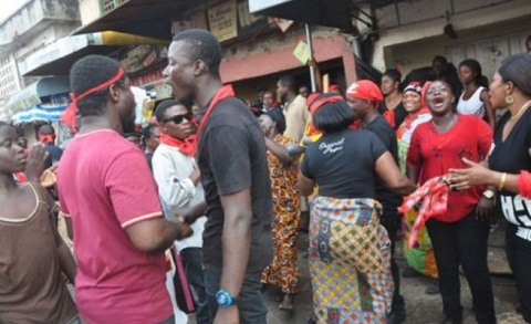 Armed robbers are collapsing our business - Kumasi traders