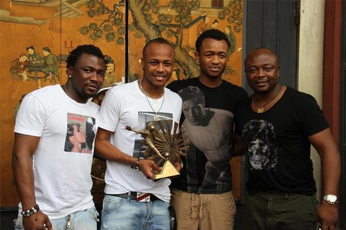 Photos: Top Black Stars Players who are Dad's with their Kids
