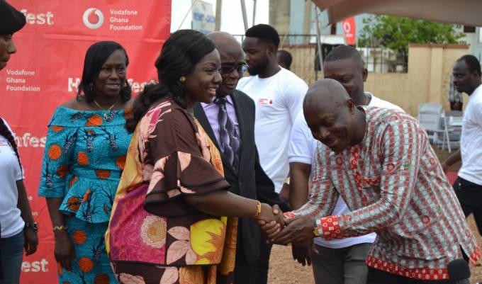 Lady Julia commends Vodafone for healthcare initiatives