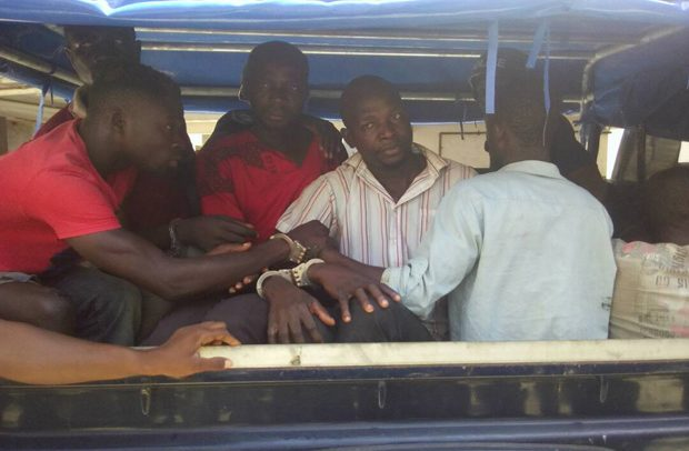 Captain Mahama's Killers Caged