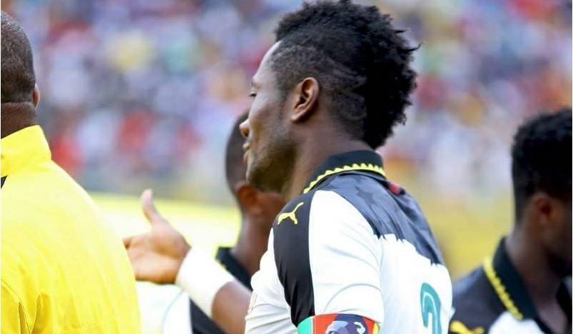 Why Gyan did not hand over the captain's armband to Ayew during Ethiopia tie