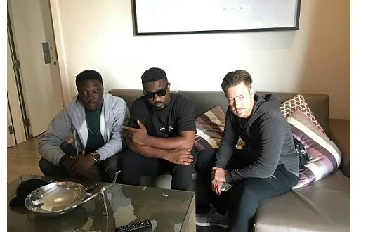 Sarkodie & Kurl Songx Shooting Video For 'Jennifer Lomotey' In South Africa