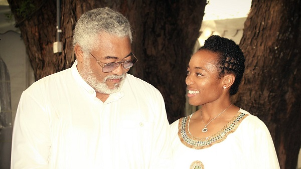 I'm proud to be your daughter - Zanetor Rawlings