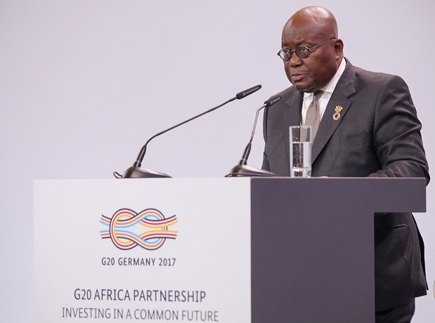 Akufo-Addo challenges African leaders to depart from mindset of aid