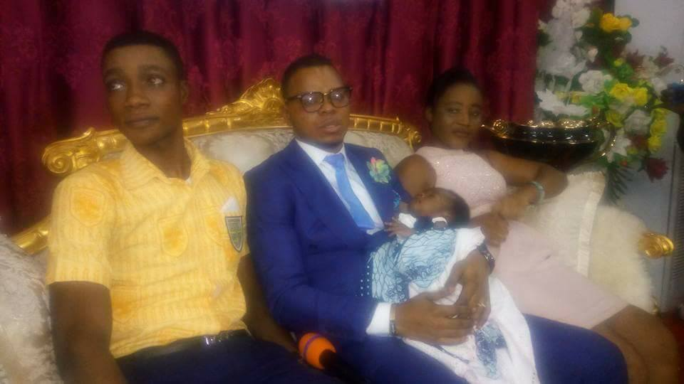 The Teenagers Angel Obinim Flogged On Live TV Now Took Their Child To Him For Blessings