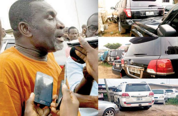 Man Busted With 37 'Stolen' Gov't Cars