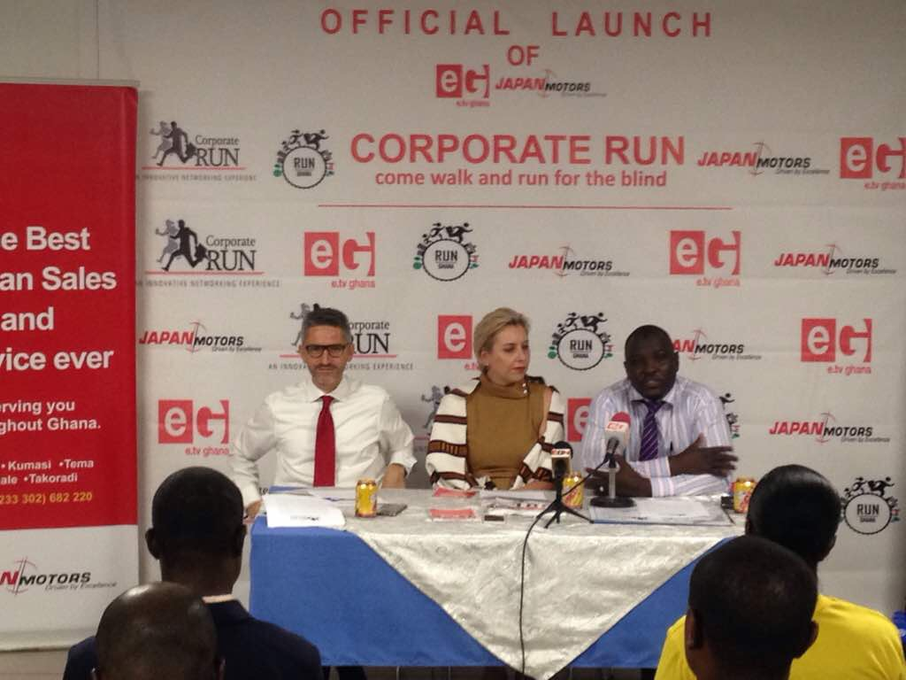 Photos: Launch of 2017 Corporate Run under way.