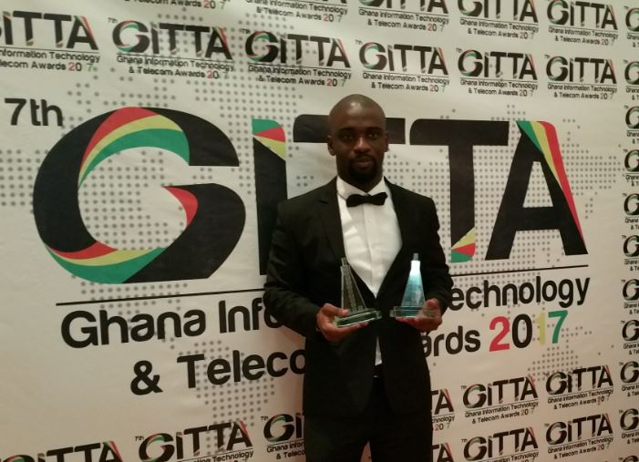 LIRANZ CEO NICHOLAS BORTEY SCOOPS YOUNG ICT ENTREPRENEUR OF THE YEAR AT GITTA 2017