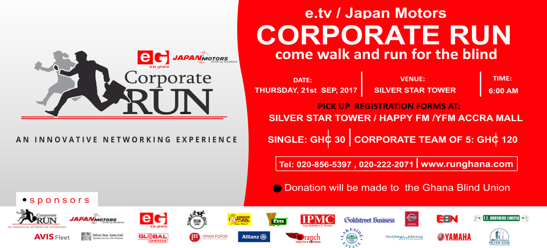 2017 Corporate Run Launched