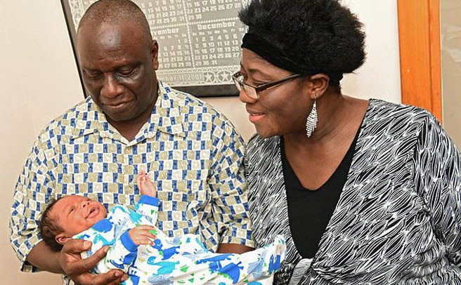 59-Year-Old Wife Gets First Baby