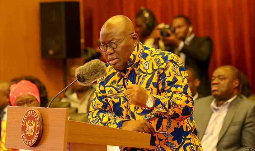 Nana Addo's full statement at maiden meeting with the media