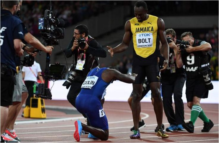 Usain Bolt explains why he lost World Championship 100m title to Justin Gatlin