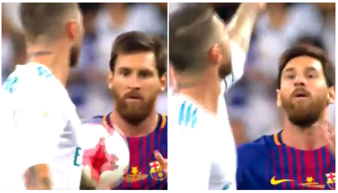 Messi to Sergio Ramos: Motherf**ker