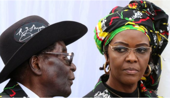 Mugabe's wife turns herself in to police over assault