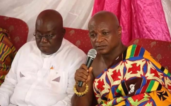 President Akufo Addo appoints Togbe Afede as NIB board chairman