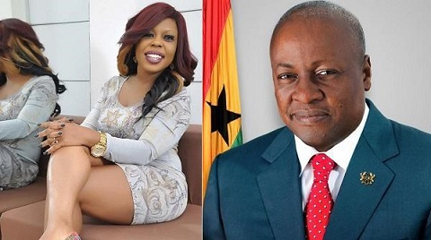 Can this be True: Mahama 'bought' Afia Schwarzenegger's house for her - Maurice Ampaw