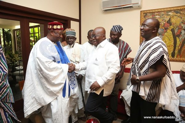 Akufo-Addo calls for an end to 15-year-old Dagbon chieftaincy crises