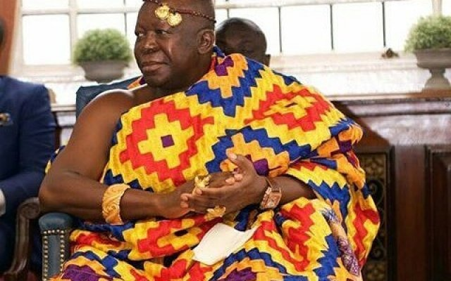 Otumfuo blames Ghanaians for galamsey menace
