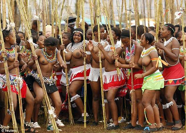45,000 Zulu girls undergo virginity test at King's Palace