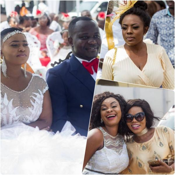 Photos: What The Stars Wore to MzGee's Wedding