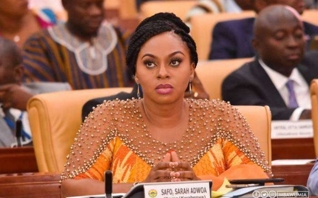 Adwoa Safo warns procurement looters