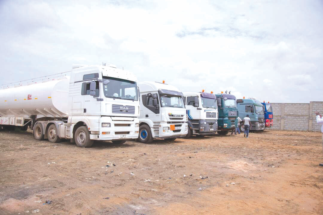 15 Truckloads of smuggled petroleum products confiscated