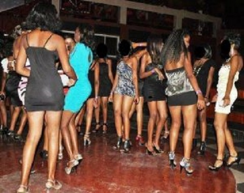 Video: Meet the 17-year-old prostitute who sleeps with 15 men a night for GHC20