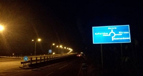 Night commissioning of Suhum overpass cancelled over safety issues